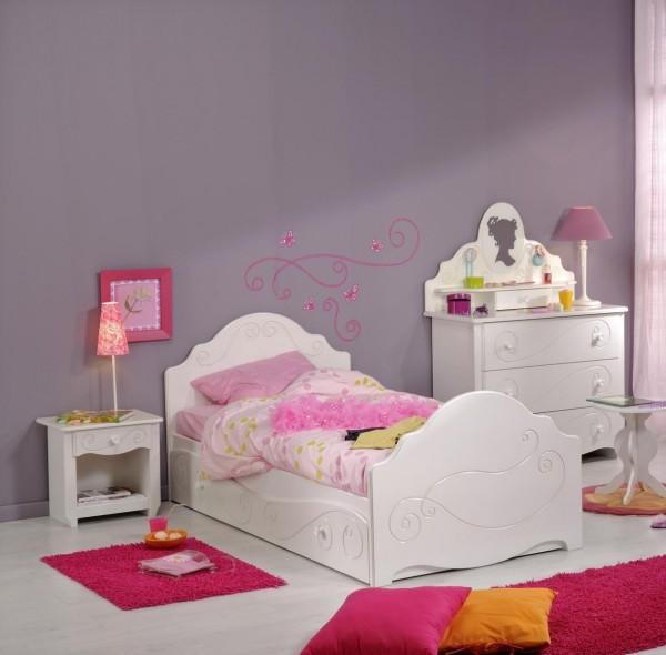 Parisot Alice 2 Kinderzimmer mit Bett und Kommode 6 teilig