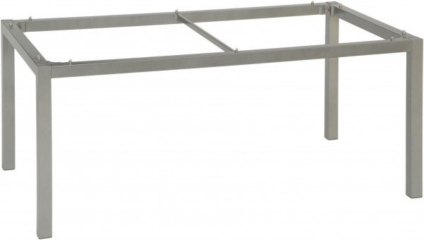 Stern Tischgestell 160x90 cm Aluminium graphit