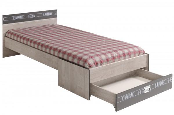 Parisot Kinderbett Fabric mit Schubkasten