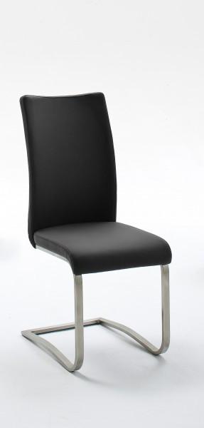 MCA Furniture Schwingstuhl Arco 2 Echt Leder