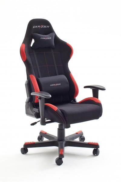 DX-Racer 1 Bürostuhl Cheffsessel Gaming schwarz rot