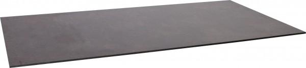 Stern Tischplatte Silverstar 160x90 cm Dekor Vintage braun