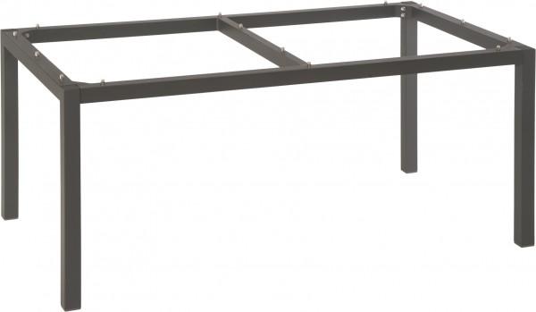 Stern Tischgestell 160x90 cm Aluminium anthrazit