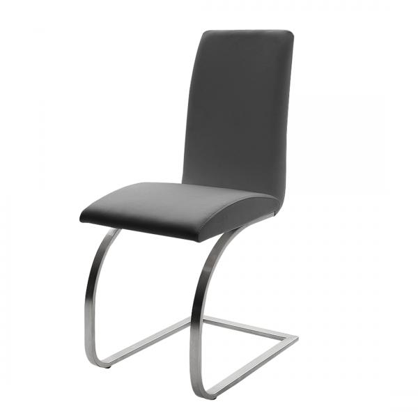 MCA Furniture Freischwinger Stuhl Maui II, TOP-Leder (2er-Set)