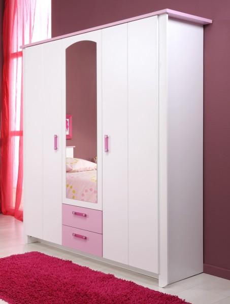 3 türiger Kinderzimmer Kleiderschrank Parisot Biotiful