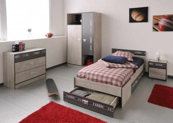 5 teiliges Kinderzimmer Set Fabric von Parisot