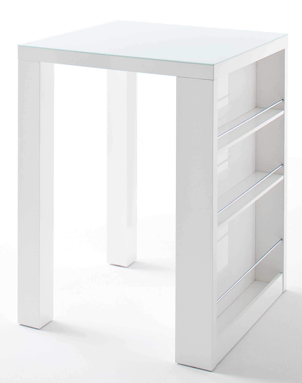 mca bartisch club hochglanz weiss bartische barm bel. Black Bedroom Furniture Sets. Home Design Ideas