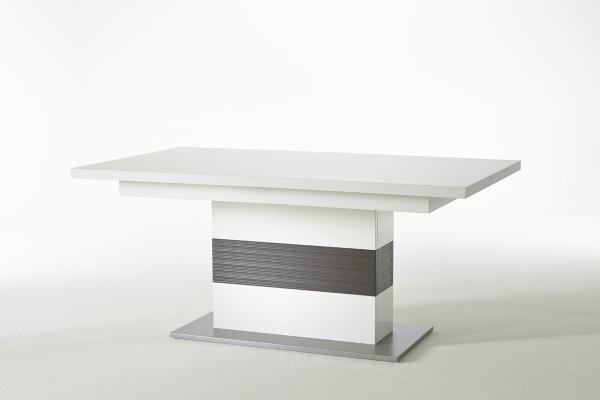 MCA Säulentisch Trento weiß