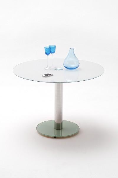 Esstisch Falko rund Glas