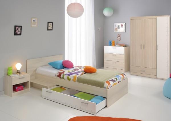 Kinderzimmer Charly 4-teilig von Parisot