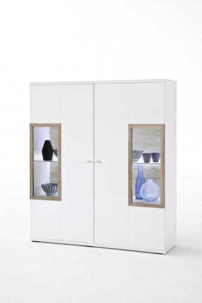 MCA Highboard Pamplona weiß