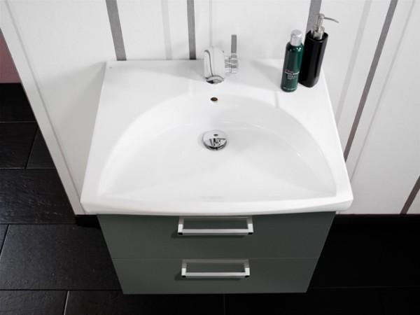 Lanzet K3 Keramik-Waschtisch 62/7/52 weiß