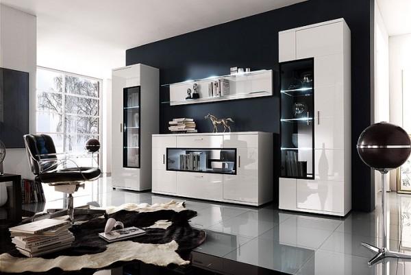 MCA Furniture Wohnwand Corano IV