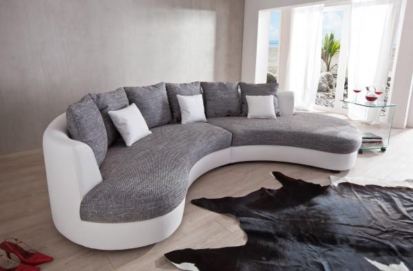 Couch Fuentello, geschwungene Form